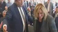 Hasip Kaplan valiye kızdı, töreni terk etti!