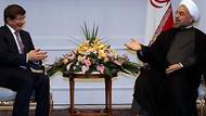 Davutoğlu, Ruhani ile Suriye'yi görüştü!