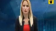 Mısır'daki o görüntü spikeri canlı yayında ağlattı!