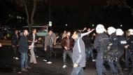Marmara Üniversitesi'nde taşlı şişeli kavga!