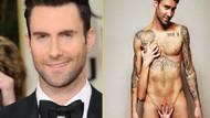 2013'ün en çekici erkeği Adam Levine!