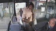 Kadın yolcunun çıldırdığı an! Ben savcıyım...