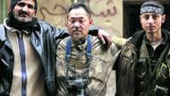 Japon gazeteciler muhaliflere katıldı!