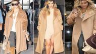 Kim Kardashian mantosundan vazgeçmiyor!