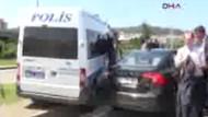 Başbakan Erdoğan'ın  konvoyunda kaza!