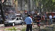 Ankara'daki patlamadan ilk görüntüler