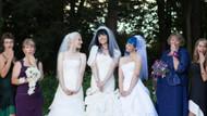 Birbirleriyle evlenen 3 kadın bebek bekliyor