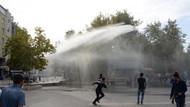 Diyarbakır'daki protestoda 1'i polis 2 yaralı