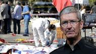 Apple CEO'su Tim Cook'tan Ankara için tweet
