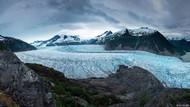 Alaska buzullarından gerçeküstü fotoğraflar