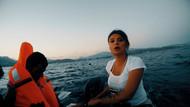 TRT ekibi mülteci botuna bindi Yunanistan'a kaçak gitti.