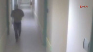 Asitli saldırgan kamerada