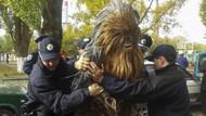 Chewbacca Ukrayna'da gözaltına alındı