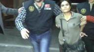Kadın terörist HDP seçim aracında yakalandı