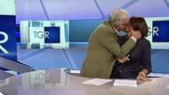 İtalyan şovmenden şoke eden öpücük
