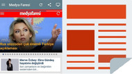 Medyafaresi.com Android'te Gazeteler uygulamasında