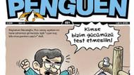 Penguen'den olay Davutoğlu kapağı