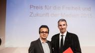 Nedim Şener'e Almanya'dan basın özgürlüğü ödülü