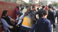 Sandık başında AKP HDP kavgası