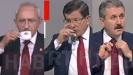 Liderlerin TRT konuşmasının kamera arkası!