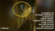 Bataclan'da saldırı anı! Şok görüntüler