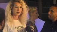 Gizem Özdilli'nin tişörtü Kristal Fare gecesine damga vurdu!