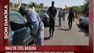 Rehin alınan Türk hostes canlı yayına bağlandı