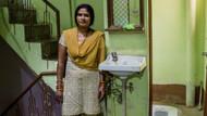 Hintli kadınlardan çiş kampanyası