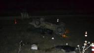 Silvan'da askeri araç devrildi: 3 yaralı