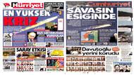 Gazeteler Rus uçağının düşürülmesini nasıl gördü?