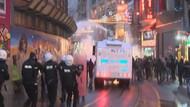Beyoğlu'nda eyleme polis müdahalesi