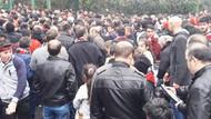İstanbul'daki Kastamonu taraftarları maça akın edince...