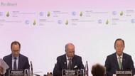 Erdoğan  İklim Zirvesi için Fransa'da