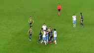 Fenerbahçe Trabzonspor maçında kavga!