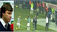 Maç sonu Bursa'da stadyum karıştı