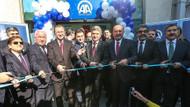 Akdoğan TRT ve AA'nın Üsküp ofisini açtı