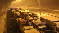 TEM'de son durum! Ankara yolu açıldı mı?