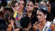Güzellik yarışmasında skandal hata