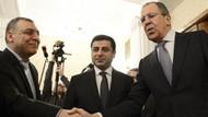 Demirtaş, Moskova'da Lavrov ile görüştü