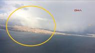 İstanbul'da havadan çekilen kar manzaraları