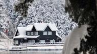 Gölcük'ten kar manzaraları