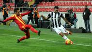 Kartal'ı Sosa uçurdu: Kayseri 1-2 Beşiktaş