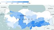 Türkiye'deki Suriyeli mülteciler haritası şaşırttı