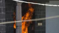 PKK'lılar Sur'daki ilk Osmanlı Camisini yaktı!