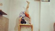 İki yaşındaki jimnastikçi mucize çocuk