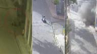Teröristler pusu kurarken kameraya yakalandı