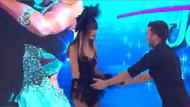 Canlı yayında dans ederken...