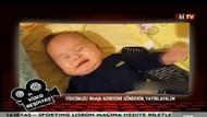 BJK TV'den Aziz Yıldırım'a ağlayan bebek videosu!