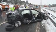 TEM Ümraniye yönünde kaza: 3 ölü!