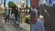 Sultanahmet'e giden polisler kaza yaptı!